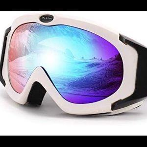 Ski Goggles for Women Men, Over Glasses Snowmobile